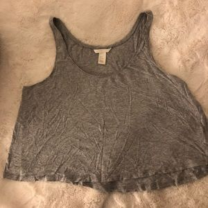H&M Basic Grey Tank Top